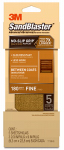 3M 11180-G Sandblaster No Slip Grip Sandpaper, 180-Grit, Gold, 3-2/3 x 9-In., 5-Pk.