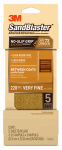 3M 11220-G Sandblaster No Slip Grip Sandpaper, 220-Grit, Gold, 3-2/3 x 9-In., 5-Pk.