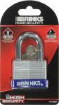 Hampton Prod Intl 172-50091 2-Inch Laminated Brass Pin Tumbler Padlock