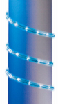 Noma/Inliten-Import 55042-88 Christmas Rope Light, Blue LED, 9-Ft.