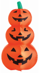 Citi Talent 90-223-087 Halloween Inflatable Lawn Decoration, Stacked Pumpkins, Lighted, 48-In.