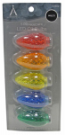 Noma/Inliten-Import 11228-88 Christmas Lights LED Replacement Bulb, C9, Multi-Color, 5-Pk.