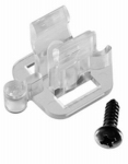 Commercial Christmas Hardware 0904060802 Rope Light Clip Holders, Adhesive, 12-Ct.