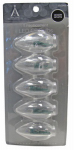 Noma/Inliten-Import 11229-88 Christmas Lights LED Replacement Bulb, C9, Warm White, 5-Pk.