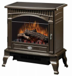 Dimplex North America DS5629BR Electric Fireplace Stove, Bronze Finish, 25-In. Width