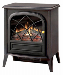 Dimplex North America ES2033 Electric Fireplace Stove, Black Finish, 20-In. Wide