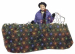 Noma/Inliten-Import V44546-88 Staylit Christmas LED Net Lights Set, Multi-Color, 6 x 4-Ft.