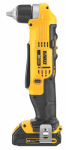 Black & Decker/Dewalt DCD740C1 Cordless Right Angle Drill/Driver Kit, 3/8-In., 20-Volt Max Lithium Ion, 2-Speed