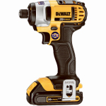 Black & Decker/Dewalt DCF885C2 Compact Cordless Impact Driver Kit, 20-Volt Lithium Ion Batteries, 1/4-In.