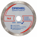 Dremel Mfg SM540 Saw-Max Diamond Tile Cut-Off Wheel, 3-In.