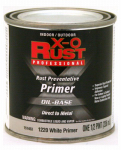 True Value Mfg 1220-HP Metal Primer, Oil-Base, White, .5-Pt.