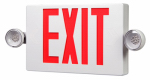 Cooper Lighting APCH7R LED Exit/Emergency Sign, Battery Back-Up