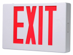Cooper Lighting APX7R LED Exit Sign, Battery Back-Up, Red & White Thermoplastic