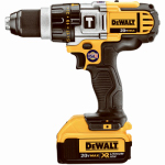 Black & Decker/Dewalt DCD985M2 Cordless Hammer Drill Kit, 1/2-In., 3-Speed, LED Worklight, Two 20-Volt Max Lithium Ion Batteries