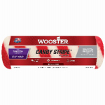 Wooster Brush R209-9 Candy Stripe Paint Roller Cover, Smooth, 1/4 x 9-In.
