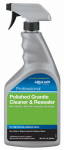 Custom Bldg Products AMGCRQT Polished Granite Cleaner & Resealer, Ready-to-Use, 1-Qt.