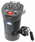 Old World Automotive Product PKC0BM AC & USB Power Outlet For Vehicles