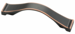 Brainerd Mfg Co/Liberty Hdw P17884C-VBC-C Cabinet Pull, Bronze  & Copper, Dual-Mount, 96mm