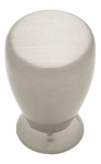 Brainerd Mfg Co/Liberty Hdw PN0248C-SN-C Cabinet Knob, Milk Bottle, Satin Nickel