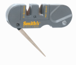 Smiths Consumer Products PP1 Pocket Knife Sharpener, Sharpens all type of knives, Fast & Easy Pull Thru Design.