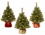 National Tree Co-Import NBA7-20GBCL-B 2'Noble Art Spruce Tree