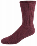 Wigwam Mills F3033-369 Socks, Crew, Merino Wool & Silk, Rose, Women's Medium