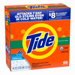 Procter & Gamble 849926 Laundry Detergent Powder, Regular Scent,  68 Loads, 95-oz.