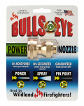 Bullseye Enterprises 810C Industrial Grade Power Hose Nozzle, Brass