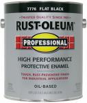 Rust-Oleum 242251 GAL Flat BLK Enamel