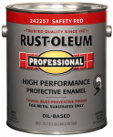 Rust-Oleum 242257 Professional Enamel Paint, Safety Red, 1-Gal.
