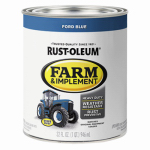 Rust-Oleum 7424502 Farm Equipment Enamel Paint, Ford Blue, 1-Qt.