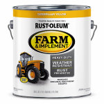 Rust-Oleum 7449402 GAL Caterpill Yellow Paint