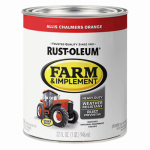 Rust-Oleum 7458502 Farm Equipment Enamel Paint, Allis Chalmers Orange, 1-Qt.