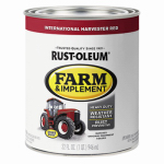 Rust-Oleum 7466502 Farm Equipment Enamel Paint, International Red, 1-Qt.