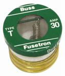 Cooper Bussmann T30 Plug Fuse, Type T, 30-Amp, 4-Pk.