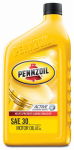 Pennzoil/Quaker State 550022816 Motor Oil, SAE 30W, 1-Qt., Must Purchase In Quantities of 12