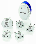 Travel Smart By Conair TS702CRR International Converter Adapter Set, 1875 Watt, High Setting