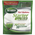 Scotts Lawns 21701 Turf Builder Starter Fertilizer, 24-25-4, Covers 1,000-Sq.-Ft.