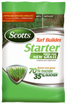 Scotts Lawns 21814 Turf Builder Starter Fertilizer, 24-25-4, Covers 14,000-Sq.-Ft.