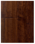 Samling Global Usa BP-EB Handscraped Solid Wood Flooring, 3/4 x 4-3/4 x RL, Birch Espresso