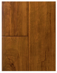 Samling Global Usa BP-WB Handscraped Solid Wood Flooring, 3/4 x 4-3/4 x RL, Birch Wheat