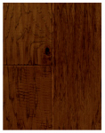 Samling Global Usa CC-HH Handscraped Engineered Wood Flooring., 3/8 x 5 x 48-In., Hickory Fuego