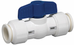 "Homewerks Worldwide 117-8-12-12B 1/2"" Push Fit PVC Valve"