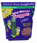 C & S Products 06101 Nuggets Plus Nuts Bird Food, Berry Flavored, 27-oz.