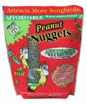 C & S Products 06105 Nuggets Plus Nuts Bird Food, Peanut Flavored, 27-oz.