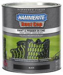 Masterchem Industries 43140 QT BLK Hammered Paint
