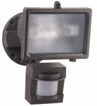 Heathco HZ-5511-BZ Halogen Security Light, Motion-Activated, Bronze, 150-Watt