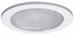 "Cooper Lighting ERT455 4"" WHT Shower Trim"