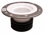 Genova Products 75158S Pipe Fitting, PVC Closet Flange, Universal, 4-In.