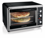 Hamilton Beach Brands 31100 Toaster Oven/Broiler With Convection, Rotisserie, Large Capacity